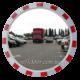 Сферическое дорожное зеркало безопасности Mega 600 (диаметр 600мм).