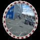 Сферическое дорожное зеркало Mega 750 ( диаметр 750 мм ).