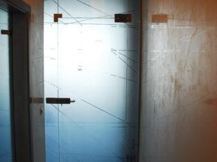 стеклянные двери киев