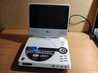 Продам портативный DVD/CD проигрыватель LG