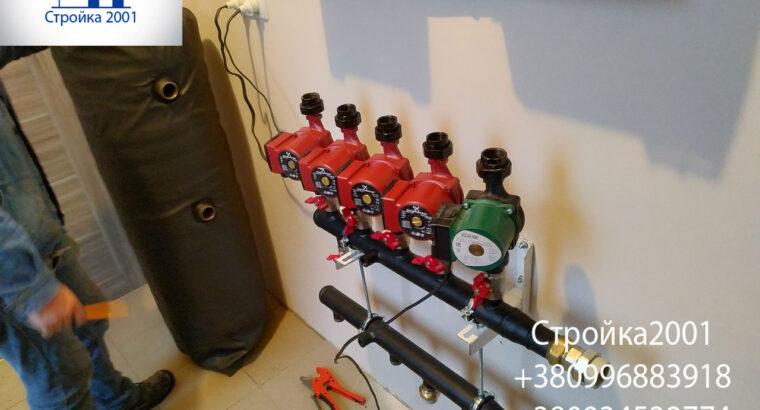 Монтаж отопления в частном доме Харьков