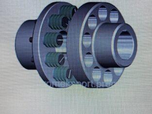 Муфта упругая втулочно-пальцевая от МУВП-1 до МУВП-13