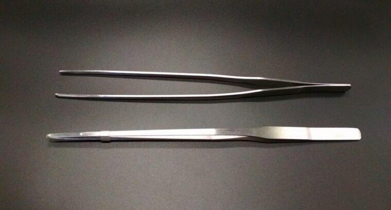 Пинцет и ножницы для аквариума, террариума.