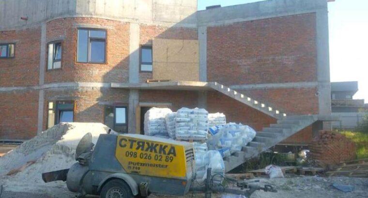 Професійна стяжка підлоги в Києві
