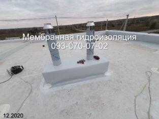 Монтаж балластной кровли Днепр