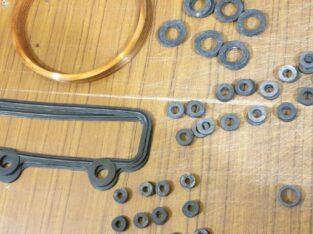 Кольца, прокладки, РТИ, запчасти 3Д20, УТД20, В2-450, В46