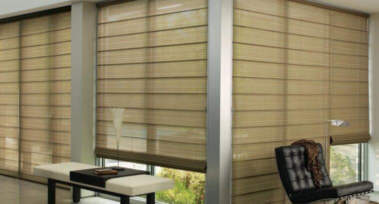 Солнцезащитные жалюзи от производителя: вертикальные, горизонтальные, рулонные. Выезд маст