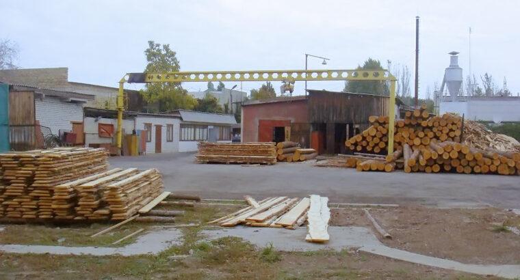 Продаётся действующее частное деревообрабатывающее предприятие
