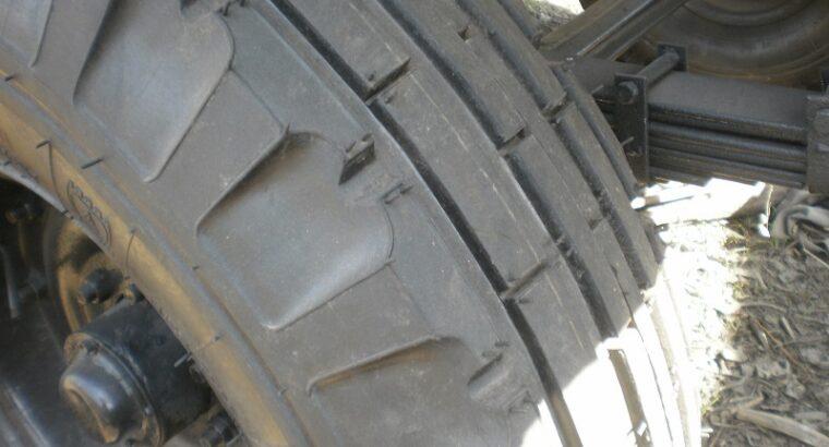 Прицеп самосвальный 2 ПТС-4 на кругу тракторный