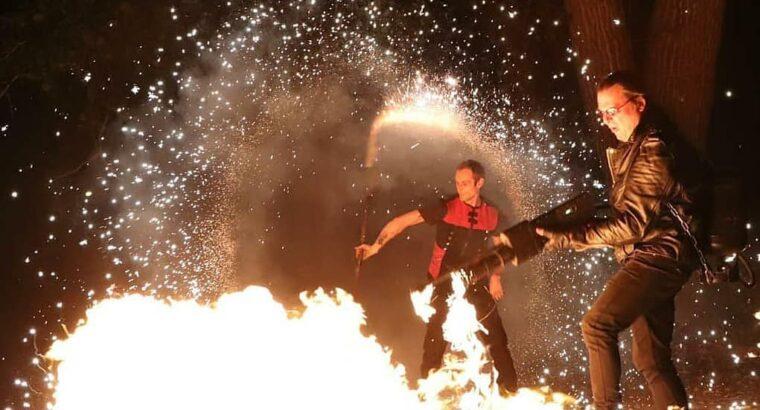 Огненно-пиротехническое шоу REITON SHOW