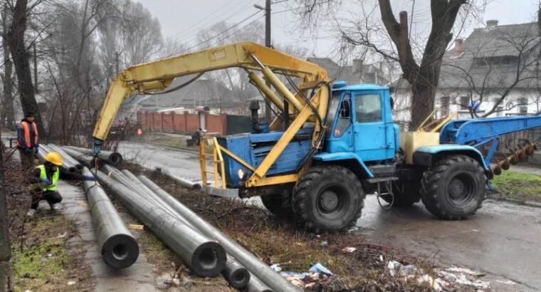 Услуги буро-крановой машины БКМ-420, Днепр