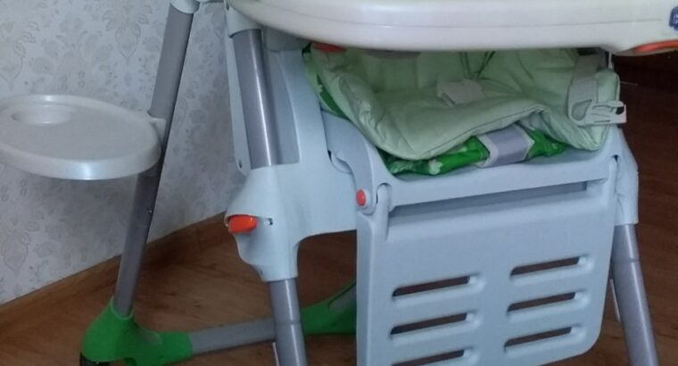 Стульчик для кормления Chicco Polly 2in1 Highchair