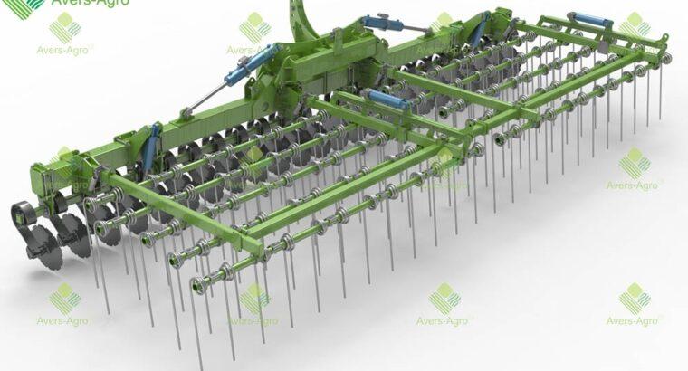 Тяжелая штригельная борона GREEN RAY 7,5 М WTD