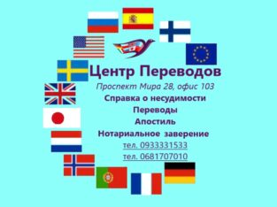 Центр Переводов в Харькове. Справки о несудимости