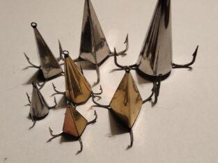 Блесна «Конус» ручной работы для ловли хищника: окуня, щуки, судака и т.д.