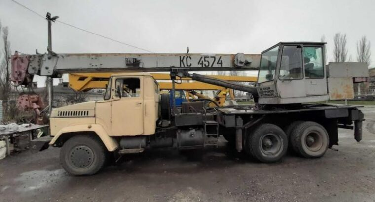 Услуги автокрана 20 т, 21,7 м, на базе КРАЗ