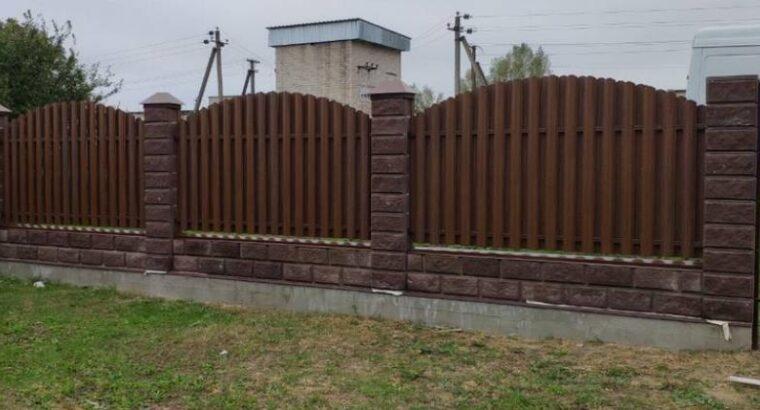 Металеві забори, ворота, зварні конструкції