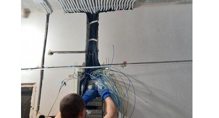 Услуги электрика Харьков. Штробы под электрику без пыли с пылесосом
