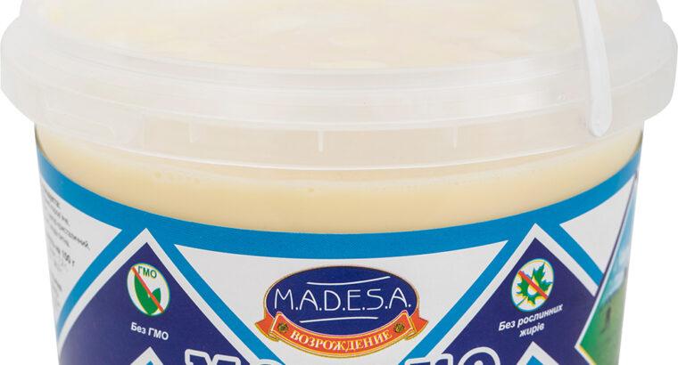 Молоко цельное сгущенное с сахаром 8, 5% жирности Ведро 1250 гр, экспорт