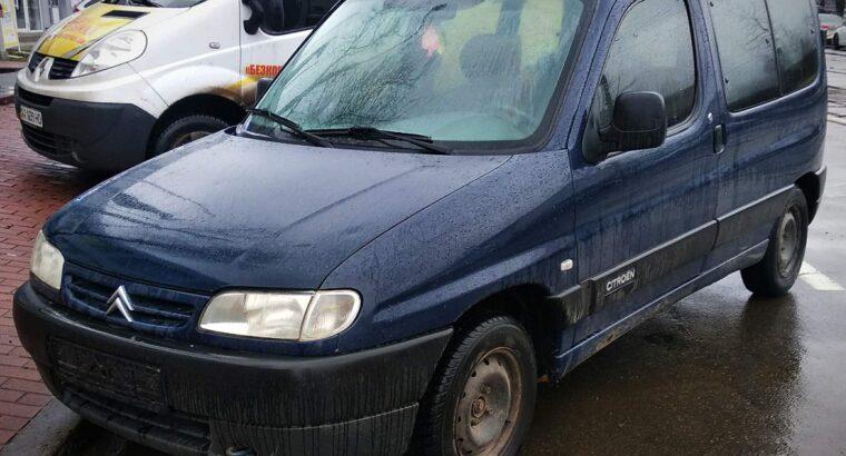 Аренда авто с выкупом Ситроен Берлинго Киев без залога универсал пассажирский
