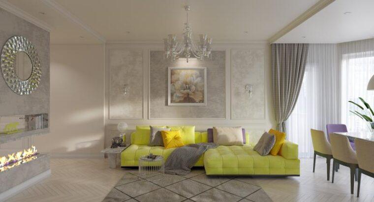 Дизайн интерьера домов, квартир и офисов в Запорожье