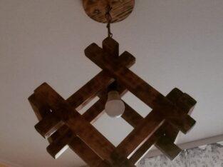 Люстра лофт з дерева під замовлення
