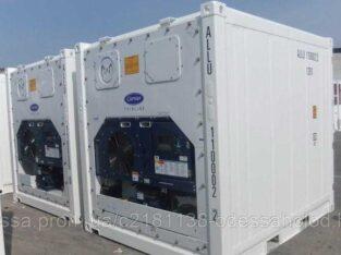 10 футовый рефрижераторный контейнер высокий 2005 гв