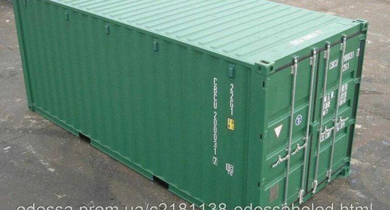 20 футовый контейнер высокий (новый)