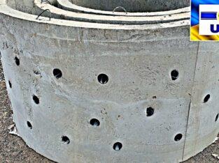 Железобетонные и бетонные кольца. Колодцы и сливные ямы