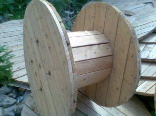 барабаны деревянные